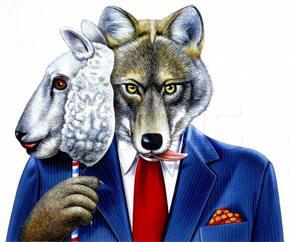 lobo piel de cordero