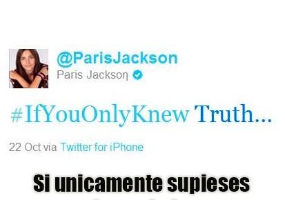 Resultado de imagen para paris jackson denuncia los illuminati