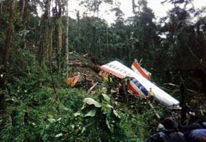 Se estrella en los Alpes un avión que cubría la ruta Barcelona-Düsseldorf Vuelo965_2