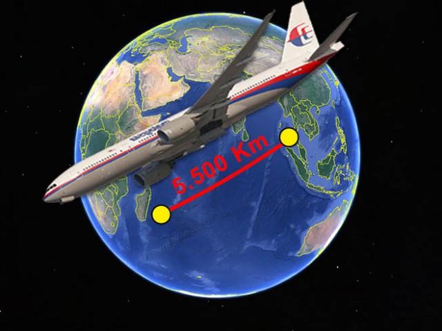 mh370 distancia