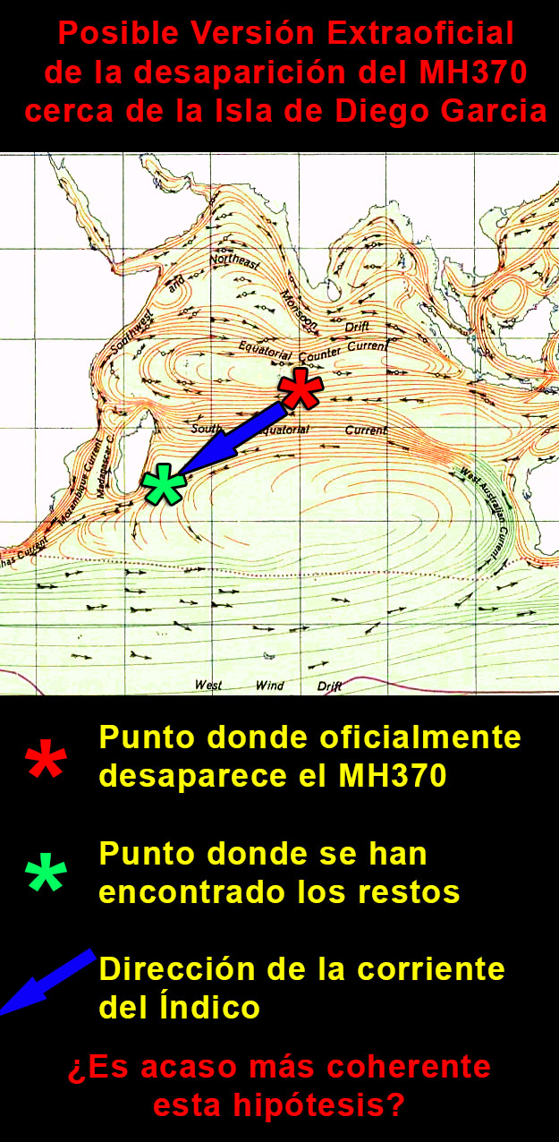 version extraoficial mh370