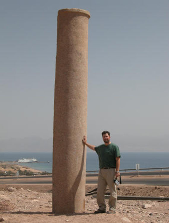 Columna - Carrozas en el Mar Rojo