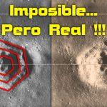 Descubierto Un Cráter Hexagonal en la Luna
